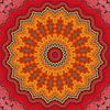 Mandala Mosaik  5 von Marion Tenbergen Miniaturansicht