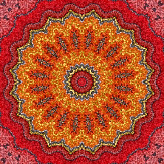 Mandala Mosaik  5