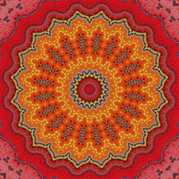 Mandala Mosaik  5 von Marion Tenbergen