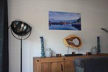Klantfoto: Skyline Zwolle van Martin Bredewold, op staal