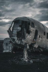 Sólheimasandur vliegtuigwrak V van Colin van Wijk