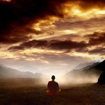 Meditatie von Jacq Christiaan