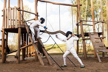 10 - Fencing van Irene Hoekstra