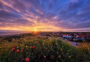 Sonnenaufgang Domburg von Quirien Marijs