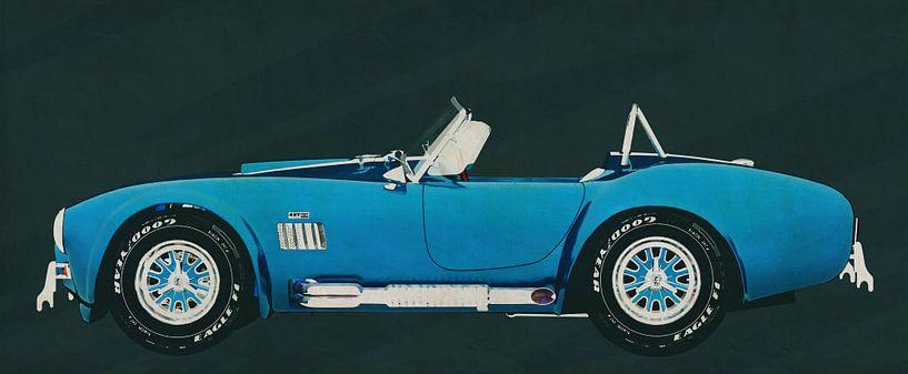 Ford AC Cobra 427 Shelby 1965 van Jan Keteleer