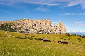Schlern in Südtirol von Michael Valjak