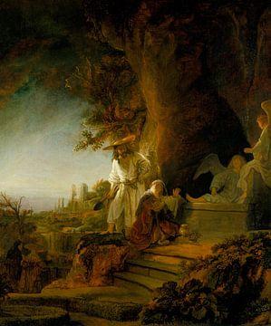 Christus erscheint Maria Magdalena, Rembrandt van Rijn