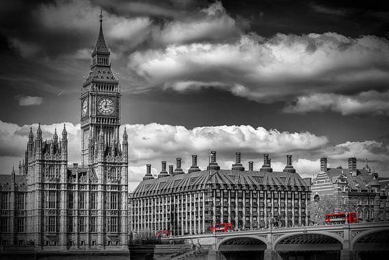 LONDON Big Ben & Red Bus