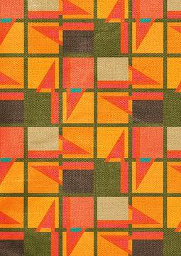 Geometrisch patroon van Mimi Paulusma