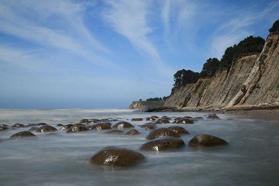 Bowling ball beach van Charlotte Bakker