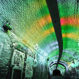 Tunnel in Utrecht van Mark Bolijn