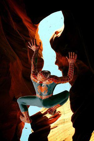 Spiderman im Antelope Canyon