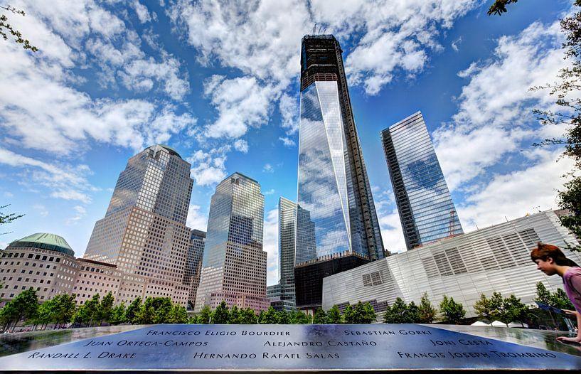 WTC Memorial, New York van Nanouk el Gamal - Wijchers (Photonook)