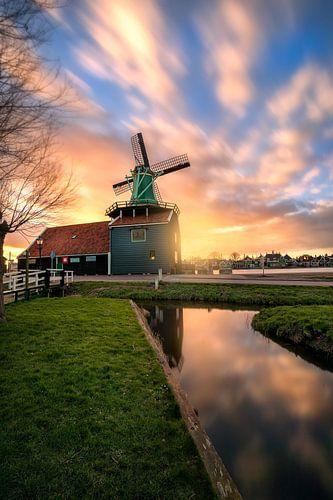 Dutch windmill De Huisman in Zaanse Schans von