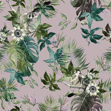 Dschungeltiere von Olga Tromp