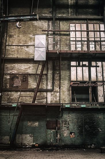 Fabrieksmuur - NDSM werf
