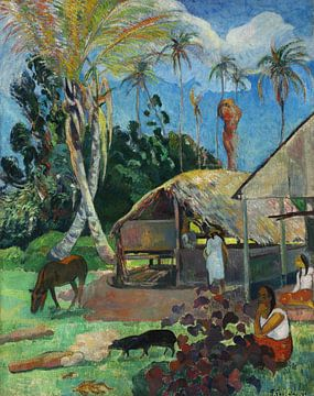 De zwarte varkens, Paul Gauguin