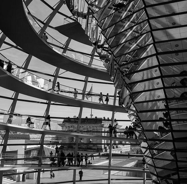 Reichstag Berlijn van Marian Sintemaartensdijk