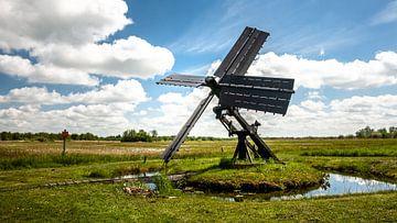 Spinnekop windmolen in de Wieden van Fotografiecor .nl