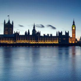 Westminster en Big Ben. van Jasper Verolme
