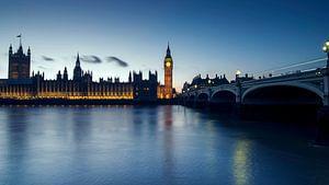 Westminster en Big Ben. van