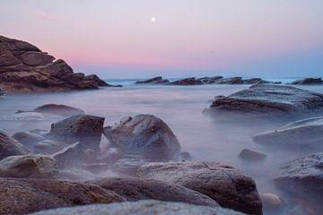 Mysterieuze zonsondergang van Sjoerd Feenstra