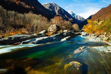 Pont sur la Verzasca, Lavertezzo, Tessin sur Felina Photography