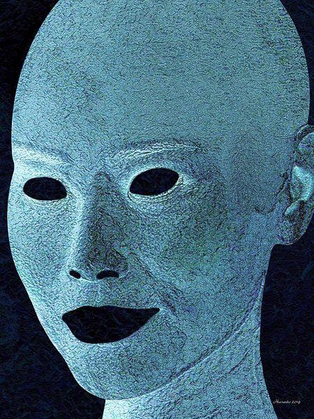Blauw van Ton van Hummel (Alias HUVANTO)