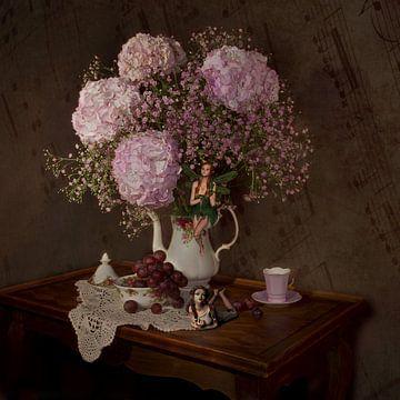Teezeit mit Feen von Karin Schwarzgruber