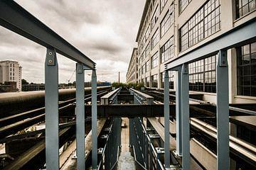 Strijp-s Stadtlandschaft von Bert-Jan de Wagenaar