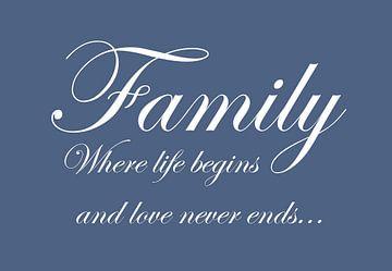 Family - Blauw van Sandra H6 Fotografie