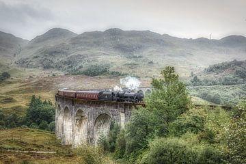 Harry Potter trein - Glenfinnan - Schotland van