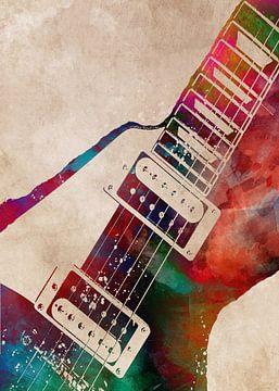 Gitarre 25 Musikkunst #Gitarre #Musik von JBJart Justyna Jaszke