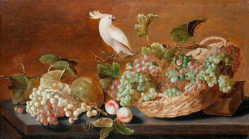 Nature morte avec perroquet, Roelof Koets