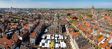 Panorama Markt Delft