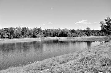 Landschap in Zwart Wit van DoDiLa Foto's