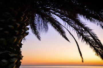 Zonsondergang op Sardinië van Claudia Moeckel