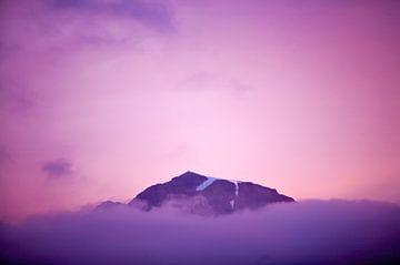 Ondergaande berg van Wilco & Casper