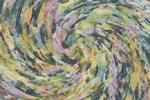 Frühlingssturm - ein abstrakter Eindruck von Anna Marie de Klerk
