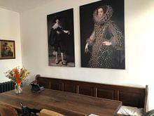 Kundenfoto: Marten Soolmans von Rembrandt van Rijn, als akustikbild