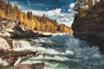 Rauher Fluss in Norwegen von Joost Lagerweij