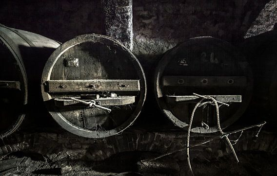 Wijnkelder Vinum Urbex van Olivier Van Cauwelaert