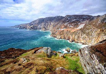 Slieve League, Ierland van Marga Verweijen