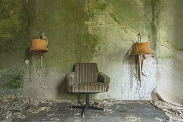 Verlassenes Hotelzimmer von John Noppen