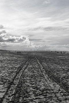Strandstraße nach Europoort von Ricardo Bouman