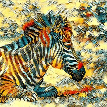AnimalArt_Zebra_001_by_JAMFoto van