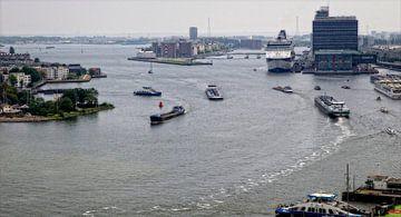 """Amsterdam """"Scheepvaart op het IJ"""" von Reinder Weidijk"""