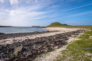 Prachtige Coral Beach op het Isle of Skye van