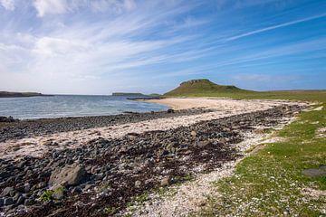 Prachtige Coral Beach op het Isle of Skye