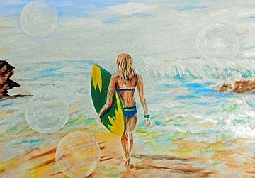 Surfen von Ineke de Rijk